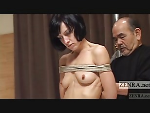Picture CMNF Subtitled Japanese Nose BDSM With Elise...