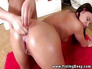 Young Hot Lesbo Gets...