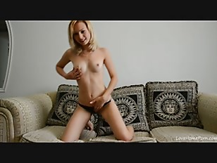Absolutely Stunning Blonde Stripping...
