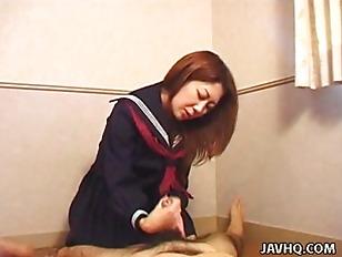 Picture Sexy Nanako Hatsushima Kinky Handjob