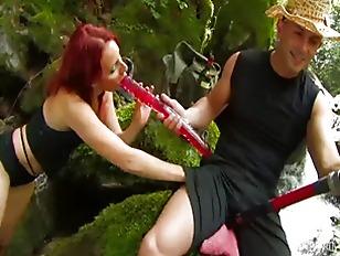 Redhead Nature Fuck...