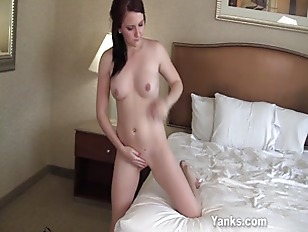Picture Cutie Humps The Bed Wishing It Was A Cock
