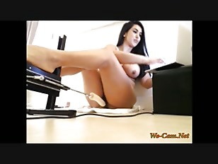 Webcam fucking machine show...
