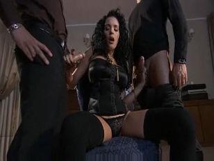 Hot Lady Brunette In...