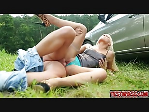 Picture Cowgirl Cum Outside
