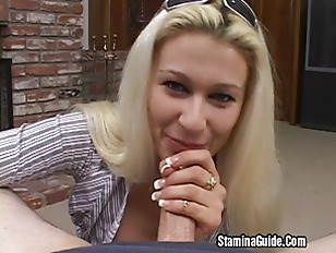 Hot Blonde Cindy Takes...