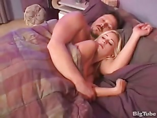 Step Father Fucks His Young Blonde Teen Daughter