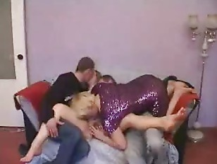 Picture Young Couple And Older Couple Swinger Action