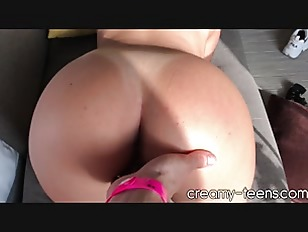 Spanish Teen Fucked From Behind 60FPS POV