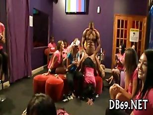 Horny Girls Celebrate Their...