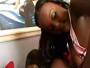 Picture Insane Ebony Asses In Anal Threesome