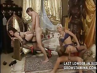 Classy group sex