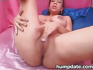 Latin Beauty Sucks Her...