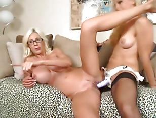 Blonde Lesbians Webcam Show...
