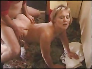 Short haired milf gets fucked