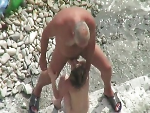 Picture Couple Have Fun Outdoor