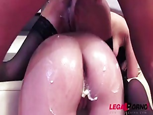 Perverted Whipped Cream Enema...