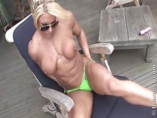 Muscular Mom...