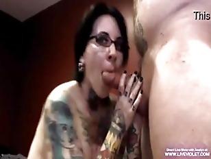 Tattooed Pierced Jeselyn Gets...