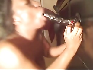 Picture Ebony Girl Plays With Her Big Toy