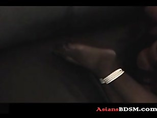 Picture Sexy Asian Felt Out While Tied On Couch