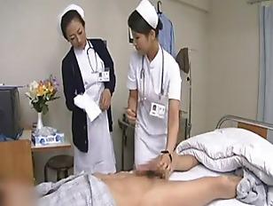 Picture Shy Nurse Treats Her Patient