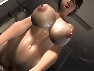 Picture 3D Cartoon Bigboobs Chick