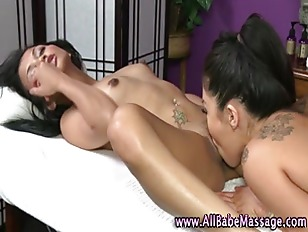 Massage Girl Pussy Licked...
