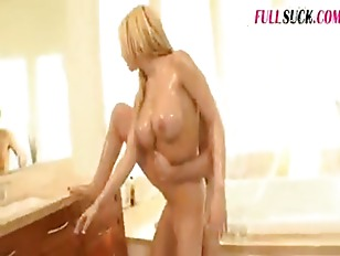 Picture Blonde Busty In Bathroom