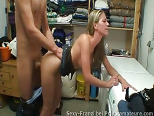 Milf Fucked in the laundry room