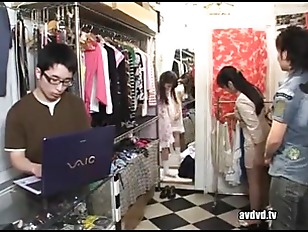 Picture Japanese Girl Get Fuck In Cloth Store