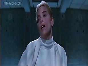 Celeb Sharon Stone Flashing...