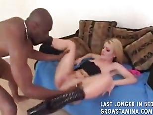 Picture Sophie Dee Enjoys Black Cock