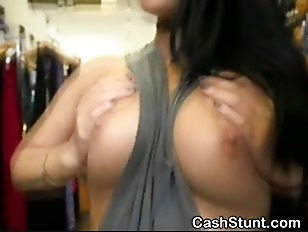 Flash tits for cash