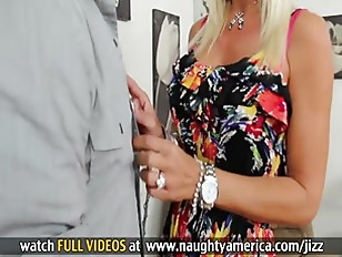 Picture Blonde Milf With Big Tits Gets Pussy Licked...