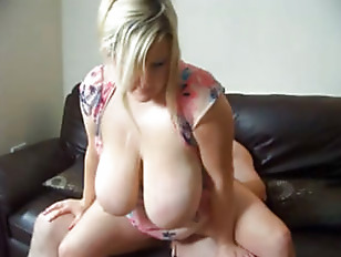 Big booded Blonde wife...