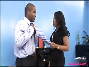 Ebony Office Sex...
