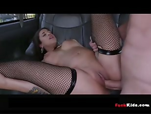Latina stripper picked up and fucked