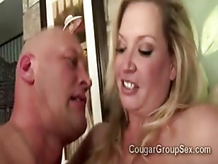 Picture Big Busty Blond MILF And 2 Huge Stacked Brun...