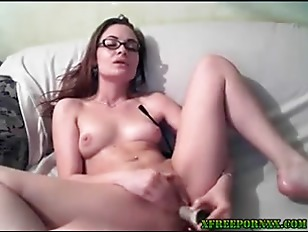 Picture Petite Brunette Toys Her Hot Ass On Cam