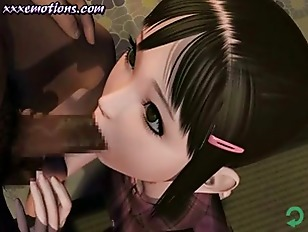 Two Animated Girls Lick...