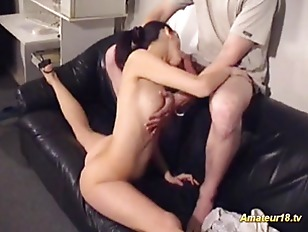 Flexible Gymnast Gets Fucked...