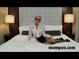 Blonde secratary milf fucked in the ass