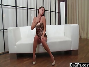 Perfect Brunette Orgasming...