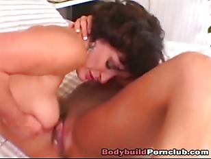 Two Lesbians Lick One Pussy