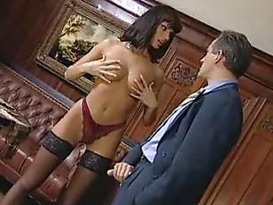 Anita Blonde Seduces Her...