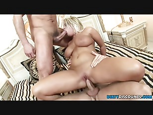 Busty Babe Double Fuck...
