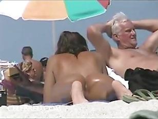 Voyeur Beach Action...