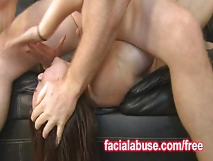 Picture Two Big Dicks Fucking Her Slutty Mouth
