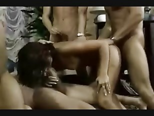 Latin on black orgy